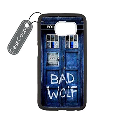 Amazon.com: Doctor Who Tardis Bad Wolf Custom & Goma Caso ...