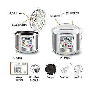 Robot de cocina inteligente cookeromatic hogar - Robot cocina amazon ...