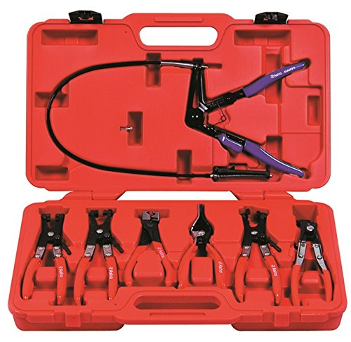 Astro Pneumatic 9406 Hose Clamp Plier Set 7 Piece