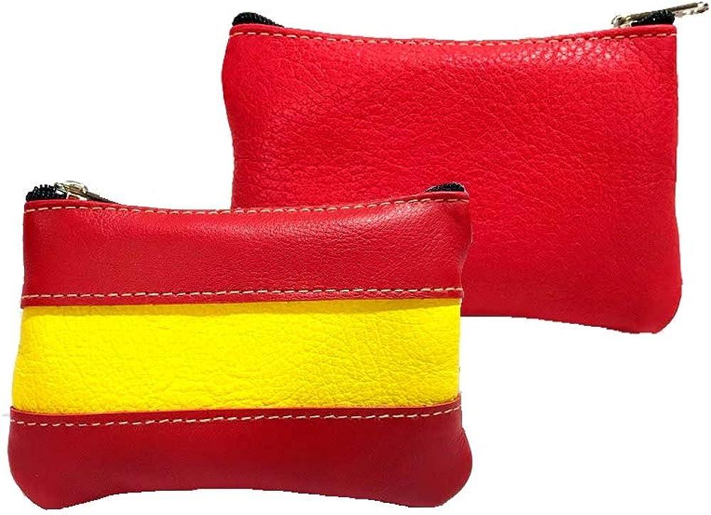 ZiNGS Monedero Bandera de España: Amazon.es: Ropa y accesorios