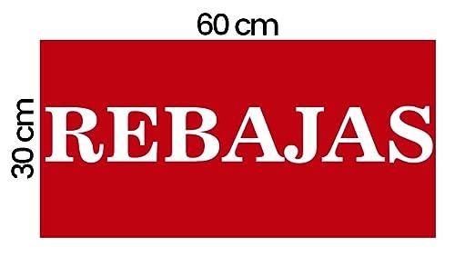 Vinilo de Rebajas 100% Removible Microventosa | Cartel ...