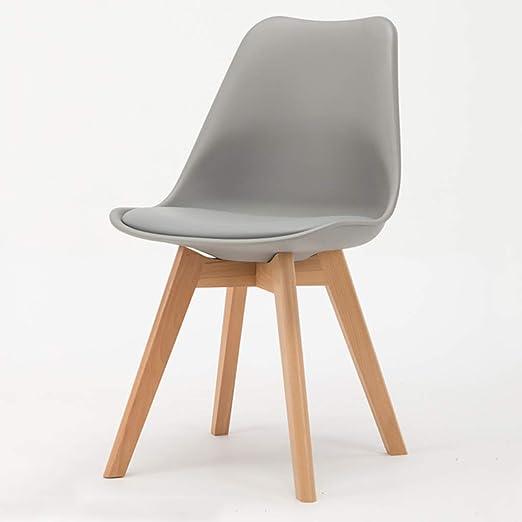 ROMA LT Sillas Creativas de Madera, sillas Simples Eames, sillas ...