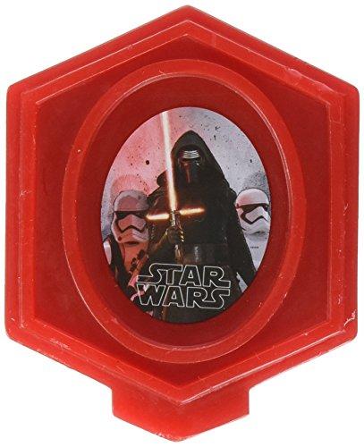 Wilton 2811-5080 Star Wars Birthday Candle, Red (Wilton Star Wars)