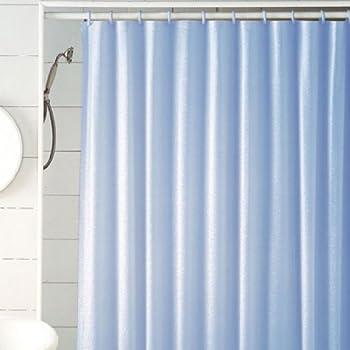 Confetti Glitter Vinyl Shower Curtain