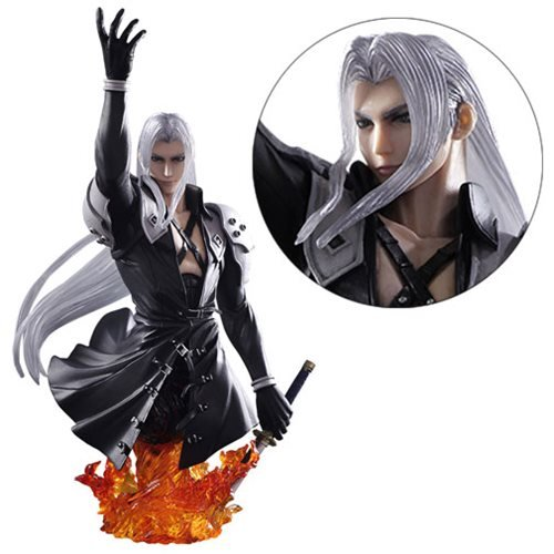 Final Fantasy VII Sephiroth Static Arts Bust
