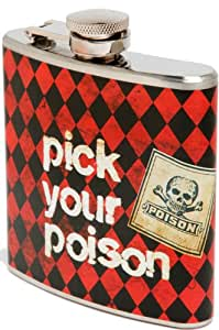 Metal Morphosis Pick Your Poison Stainless Steel Flask