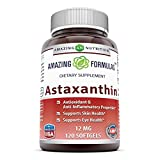 Cheap Amazing Formulas Astaxanthin Dietary Supplement – 12Mg – 120 Softgels – Promotes Healthy Skin & Eyes – Powerful Antioxidant – Anti-Inflammatory Properties*
