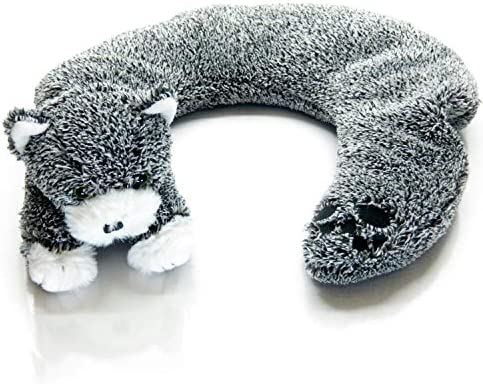 New Aromatic Lavender Herbal Therapeutic Warm Cozy Critter Knit Cat Neck Warmer