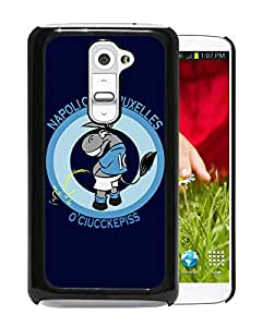 Unique Custom Designed Cover Case For LG G2 With Napoli Black Phone Case 9