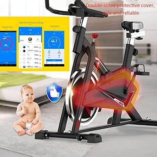 MMZX Indoor Cycling Exercise Bike Cardio Spinning Bike,Home Exercise Bike Fitness Equipment,Sports Weight Loss Equipment,Bicycle Commercial Gym, for Home Workout,Musle 4