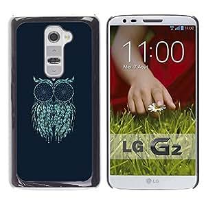 For LG G2 / D800 / D802 / D802TA / D803 / VS980 / LS980 Case , Art Moon Painting Mystical Eyes - Diseño Patrón Teléfono Caso Cubierta Case Bumper Duro Protección Case Cover Funda