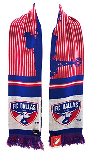 RUFFNECK MLS FC Dallas Longhorn Ranch Scarf, Red, One Size (Longhorn Ranch)