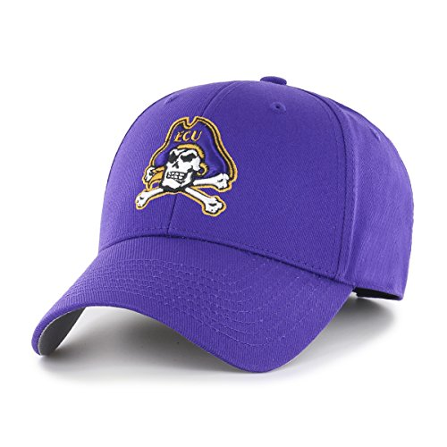- NCAA East Carolina Pirates OTS All-Star MVP Adjustable Hat, Purple, One Size