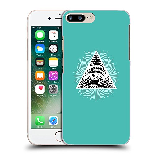 GoGoMobile Coque de Protection TPU Silicone Case pour // Q09030634 Œil Providence 13 Turquoise // Apple iPhone 7 PLUS