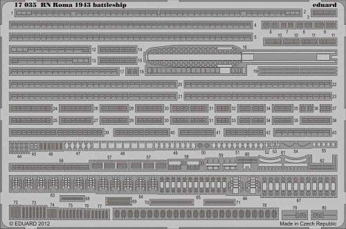 Eduard Models RN Roma 1943 Detail Set ()