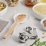 DOWAN Spoon Rest for Kitchen, 2 Packs Ceramic