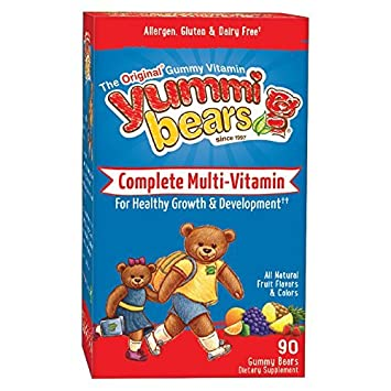 Yummi Bears Multi-Vitamin & Mineral, 90-Count Gummy Bears by Yummi Bears