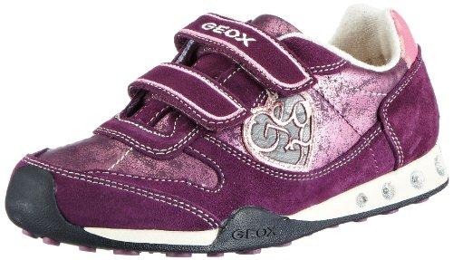 Geox Kid'S J New Jocker M Sneaker - Burgundy