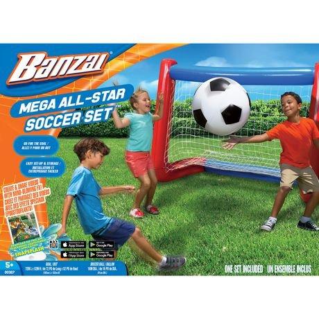 Mega All-Star Soccer Set (Inflatable Soccer Field)