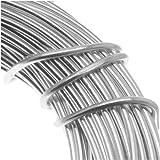 Aluminum Craft Wire 18 Gauge 39 Feet SILVER