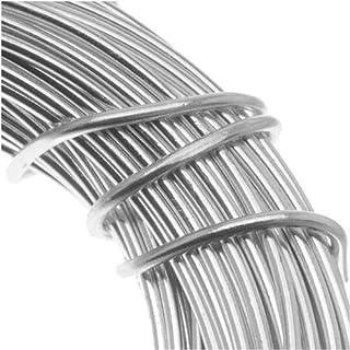 Silver 39-Feet Beadsmith 18-Gauge Aluminum Craft Wire