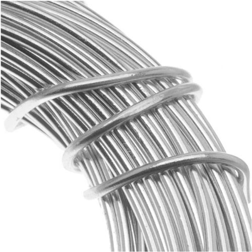 Aluminum Craft Wire 18 Gauge 39 Feet SILVER Minor Details PDW18-SI