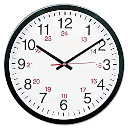 Universal UNV10441 24-Hour Round Wall Clock (1)