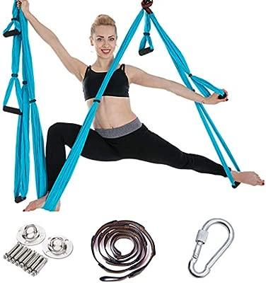 TOYS Yoga Trapecio,Columpio De Yoga Aéreo Hamaca De Yoga ...