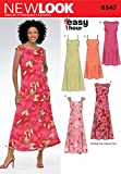 New Look Sewing Pattern 6347 - Misses Dresses Sizes: A (10 12 14 16 18 20 22)