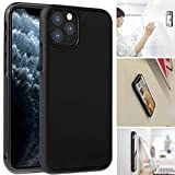 imluckies Goat Case for iPhone 11 Pro(2019), Anti Gravity Case Magical Stick to Glass, Whiteboards, Tile and Smooth Surfaces [Black]