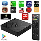Think InfotechTM HK1 Mini Android 9.0 Pie 2GB Ram 16GB Rom RK3229 Quad Core 2.4G WiFi Mini Pc 4K Android TV Box