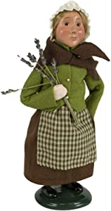 Byers' Choice Pilgrim Girl Caroler Figurine from The Thanksgiving Collection #5013C