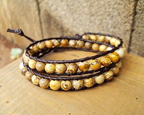 Brown jasper stone bracelets,bracelets for men and women
