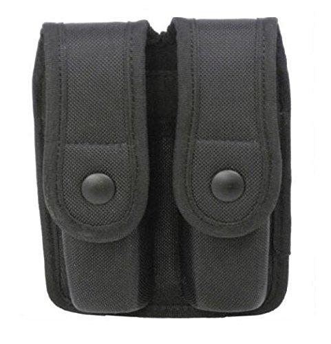 - Uncle Mike's 89075 Sentinel Duty Gear, Double Magazine Case, Single Stac, black