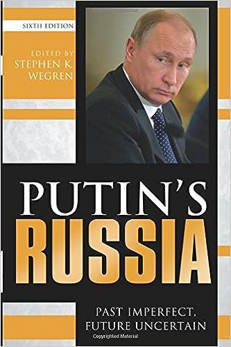 |ONLINE| Putin's Russia: Past Imperfect, Future Uncertain. junto joined Computer hours Ottawa 51uwSGOK8HL._SX331_BO1,204,203,200_