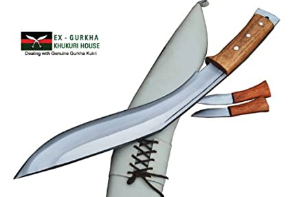 Amazon.com: Gurkha Kukri - Cuchillo de 5.9 in con mango de ...