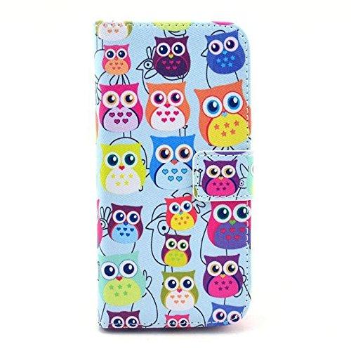 Monkey Cases® iPhone 6 4,7 Zoll - Flip Case - EULEN - cover - Premium - original - neu - Tasche