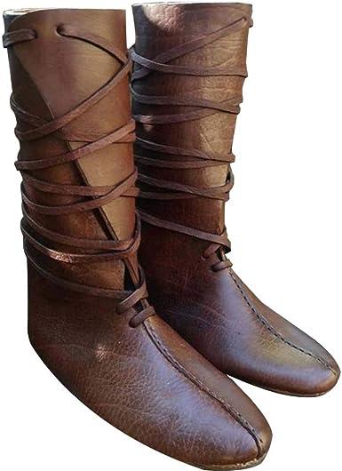 botas hombre medieval