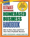 img - for Ultimate Homebased Business Handbook book / textbook / text book
