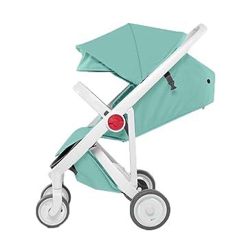 ERRU- Cochecito de bebé Naranja Ligero Carruajes de bebé Paraguas de los niños Sistemas de