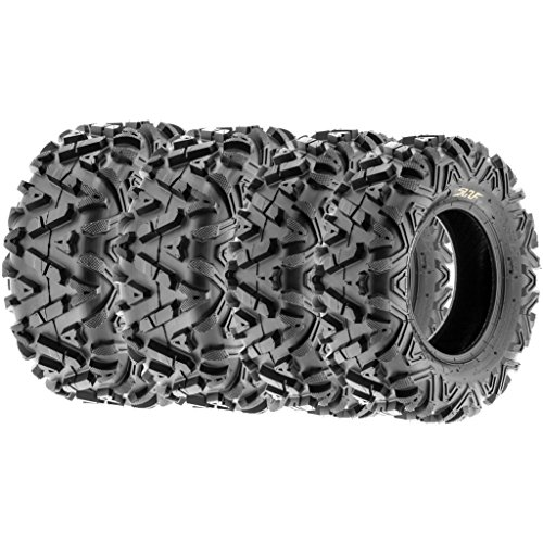SunF ALL TERRAIN ATV UTV 6 Ply Race Tires 25x8-12