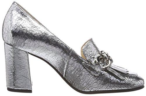 de Mujer 5 para 7028 Tacón Plateado 7600 10 Silber Zapatos Högl xWUwX4qS88