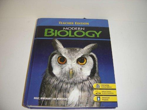 Modern Biology, Teacher's Edition
