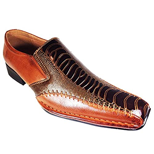 Faux Alligator Dress Shoes