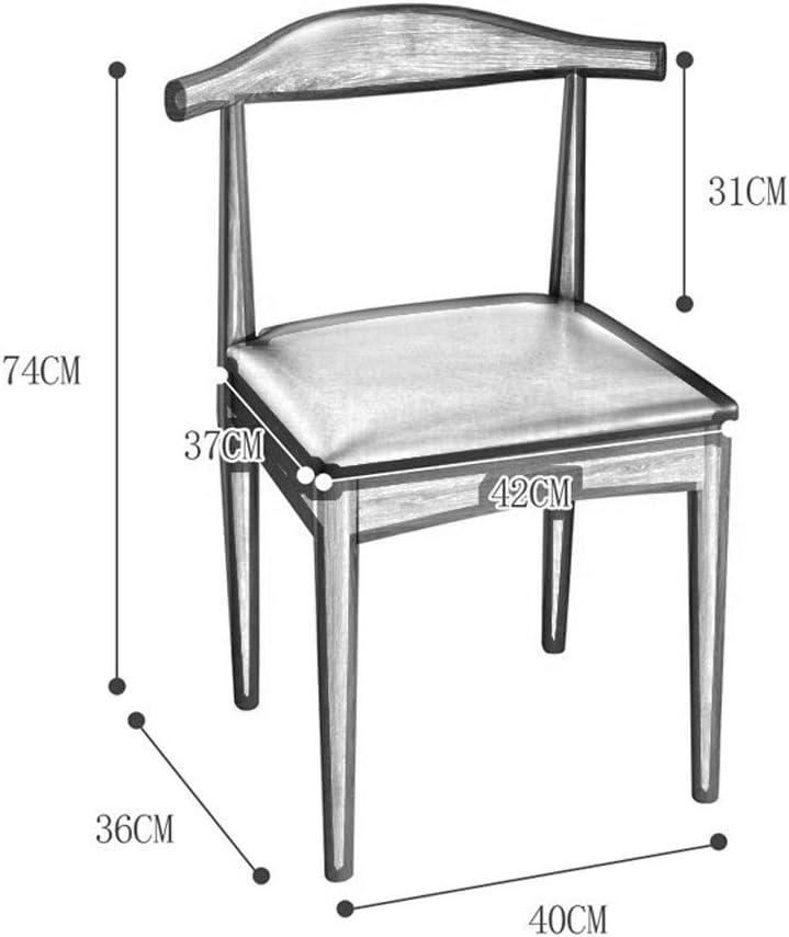RKY Chaise, chaise, salle à manger Accueil Loisirs chaise, chaise café, salle à manger table et chaises, 3 couleurs en option / - / (Color : C) B