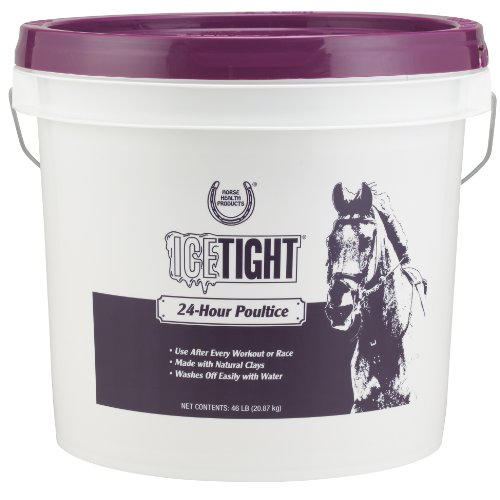 Horse Health Ice Tight Poultice for Horses | Use after Workouts or Races | For Use on Horse' Knees, Tendons and Ankles…