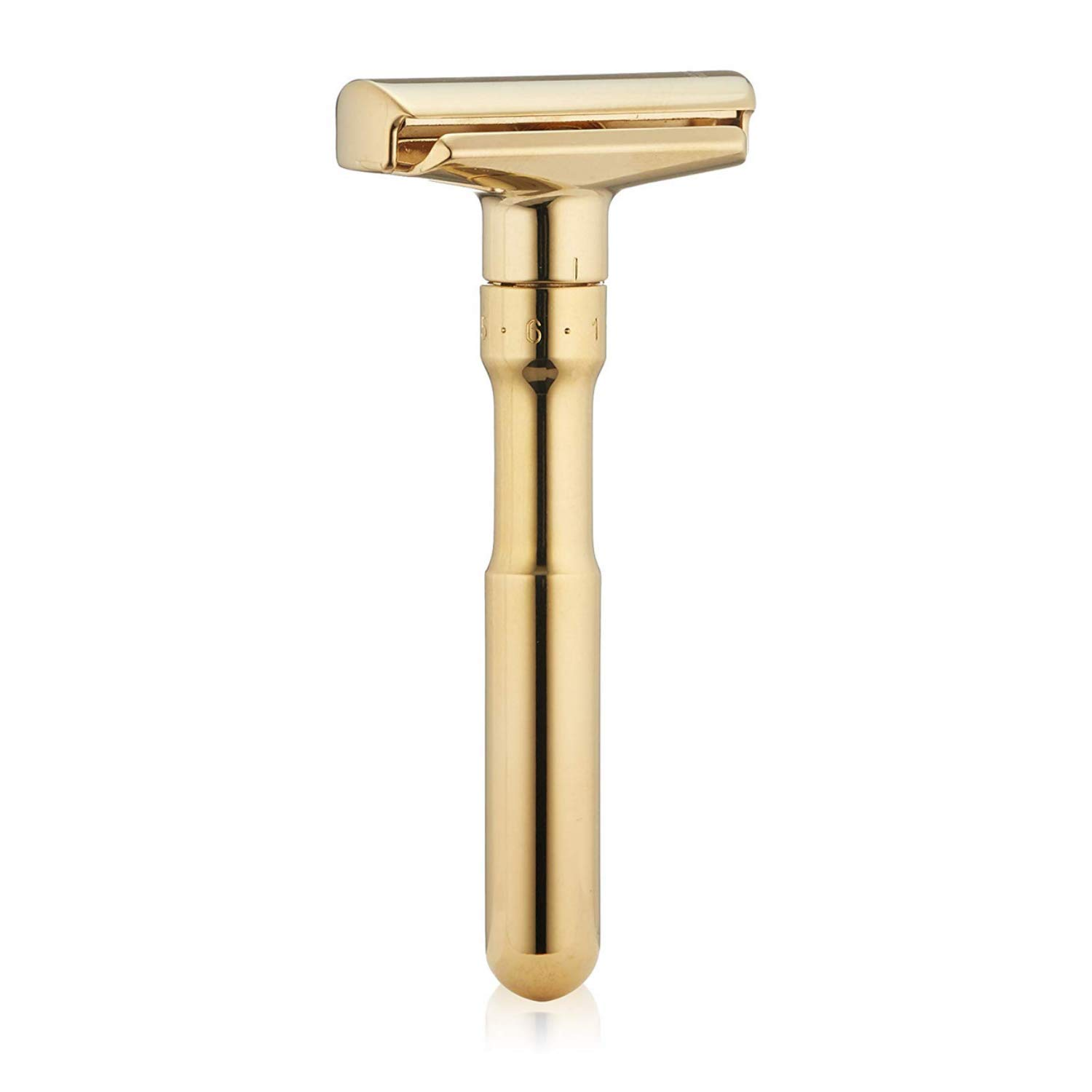 Merkur Adjustable Futur Safety Razor Gold Plated 702 by MERKUR