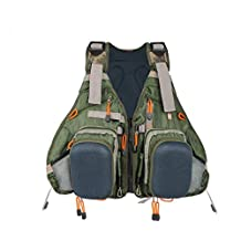 Kylebooker Fly Fishing Backpack & Vest Combo- Premium Fishing Tackle Vest For Men & Women- Upgraded Design Adjustable Fly Fishing Accessory For Fly Fishing Gear Organization