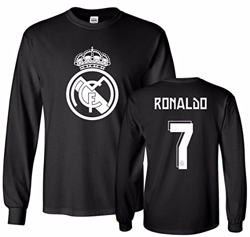 Cristiano Ronaldo T-shirts - Smart Zone FC Real Madrid Shirt Cristiano Ronaldo Men's T- Shirt