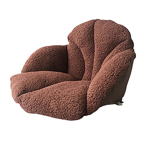 Chengstore Plush Seat cushion, Thicker Waist Support Tatami Chair Pillow...